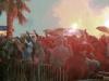 Prosvjed navijaca Hajduka 121012