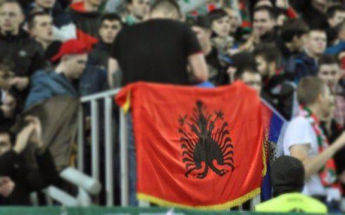Отжатый трофей у Скендербеу (Албания)