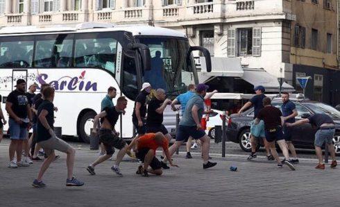 Хулиганы Локомотива на Евро