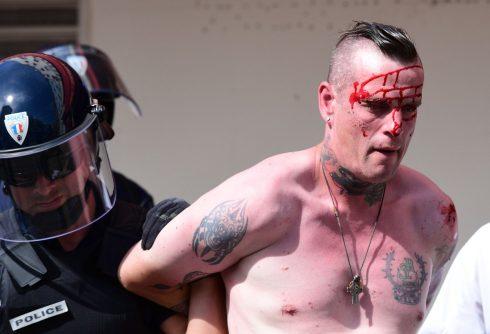 Російські хулігани готують напад на українців у Ліллі - фото 3