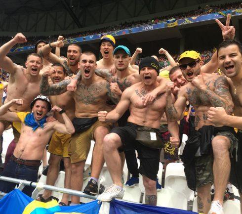 украинцы на евро 2016