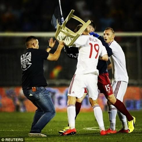 14.10.2014 Сербия — албания