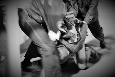 Полиция против фанатов в Самаре