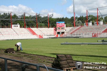 Фанаты строят стадион Юнион