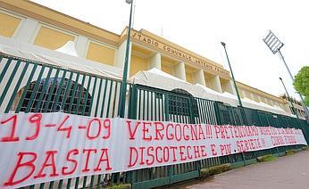 STRISCIONE STADIO ARTEMIO FRANCHI