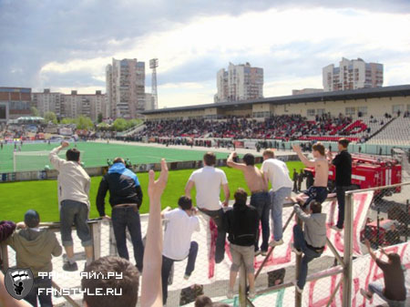 Драка между фанатами Рубина и Амкара