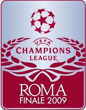 Логотип Лиги Чемпионов в Риме