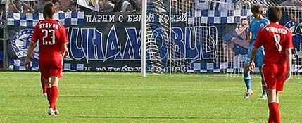 Белорусская федерация футбола вынесла предупреждение минскому «Динамо» за оскорбительный баннер