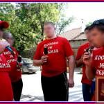 Футбольный турнир фанатов в Сербии