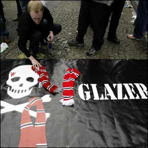 United of Manchester vs Glazer