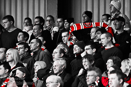 United of Manchester ultras