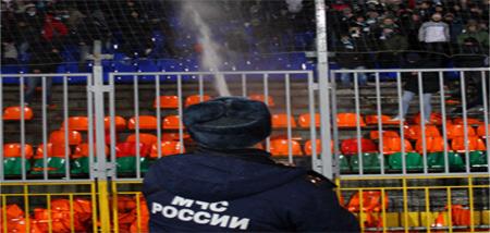 Беспорядки на матче Рубин - Крылья Советов