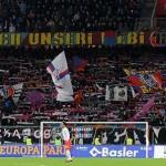 Фанаты ЦСКА на выезде в Базель
