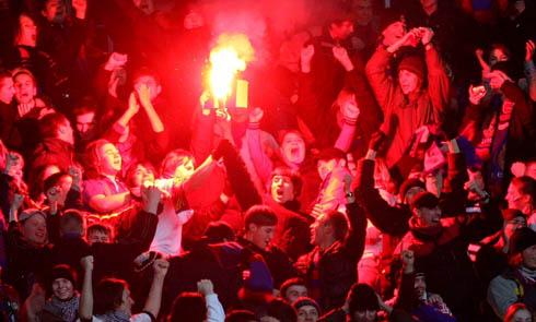 Фанаты ЦСКА в Лиге Чемпионов