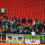 Фанаты Вольфсбурга на выезде в Москву