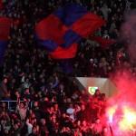 Фаера на матче ЦСКА