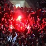 Фаер-шоу на матче ЦСКА