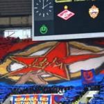 Перфоманс ЦСКА на матче против Спартака