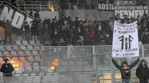 Беспорядке на матче Ювентус - Милан
