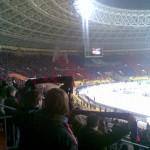 Перфоманс на игре ЦСКА - Севилья