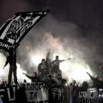 Фанаты на матче ПАОК - Панатинаикос