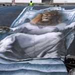 Лев на троне, банер Зенита