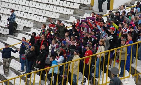 Фанаты ЦСКА во Владикавказе