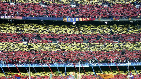 Трибуны Барселоны