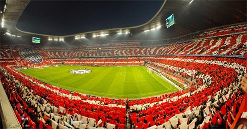 Фото с матча Бавария - Лион