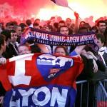 Фанаты Лиона на выезде в Мюнхен