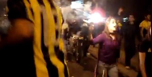 Беспорядки в Уругвае