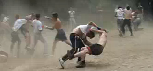 Драки футбольных хулиганов