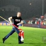Фанат Польши на матче Польша - Сербия