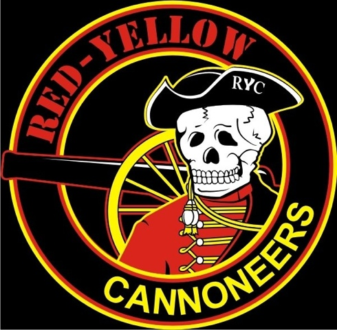 red yellow canoneers