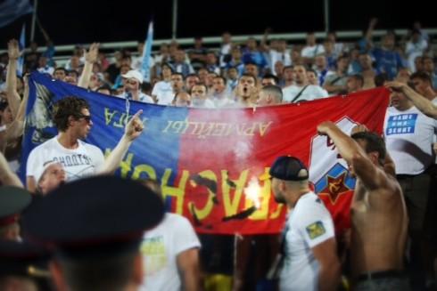 фанаты цска зенит суперкубок 2013