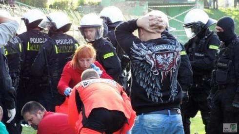 футбольный фанат убит в Кнурове