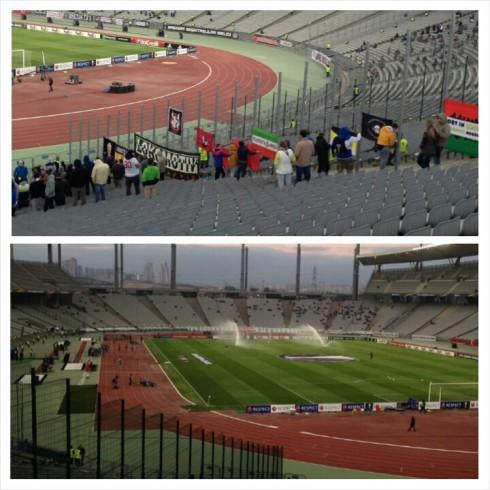 Фанаты Локомотива в Турции