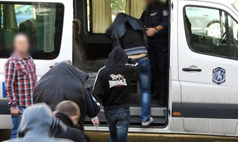 21 supporters arrested in Bulgaria