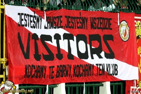 visitors widzew