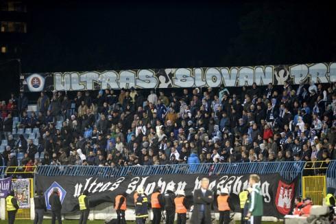 Слован - Спарта беспорядки