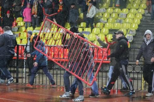 Арсенал - Торпедо беспорядки