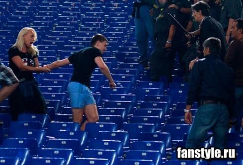 Фанаты ЦСКА в Риме
