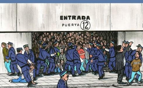 фанаты глазами аргентинского художника
