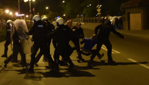 беспорядки в Кнурове