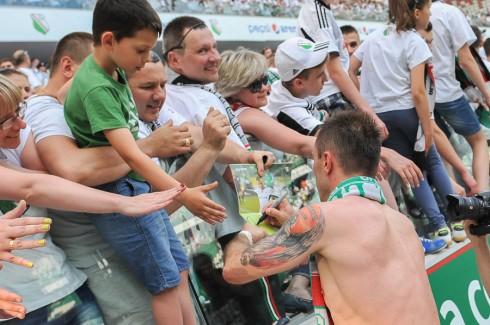 Легия - чемпион Польши 2013/14