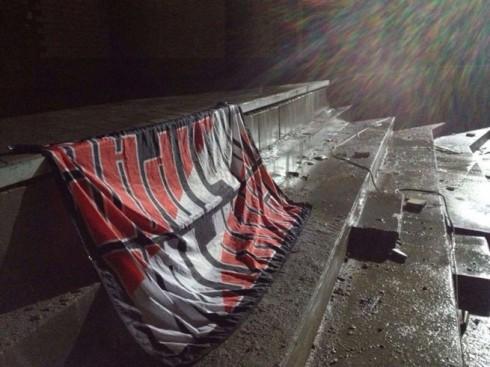 баннер спартак ультрас на стадионе