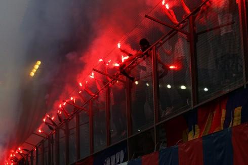 фото с матча ЦСКА - Зенит 15 марта