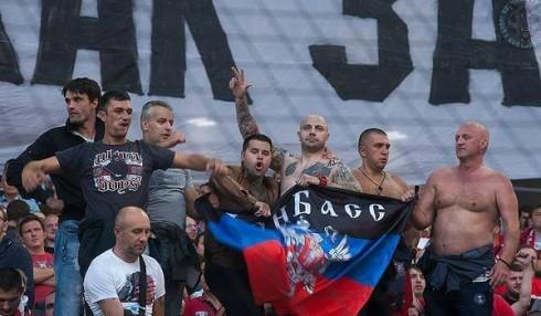Иван Богданов на матче Спартак - Црвена Звезда
