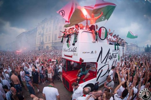 чемпионство Легии в Варшаве