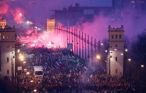 11.11.2014 Марш Независимости в Польше